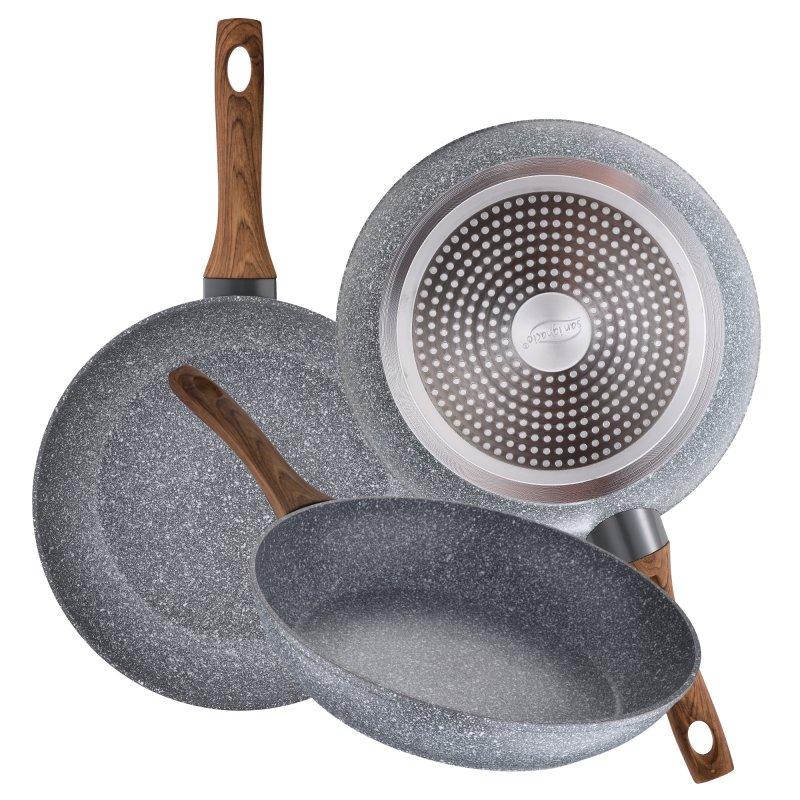 San Ignacio Daimiel Set 3 Sartenes de Aluminio 18/22/26cm