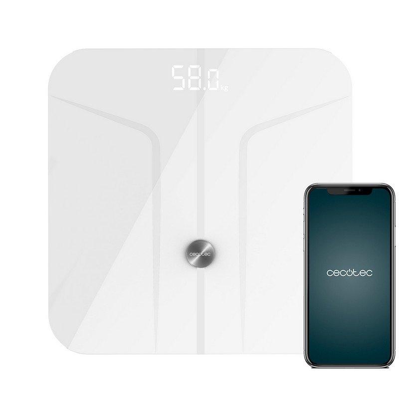 Cecotec Surface Precision 9700 Smart Healthy Báscula de Baño con Función de Bioimpedancia
