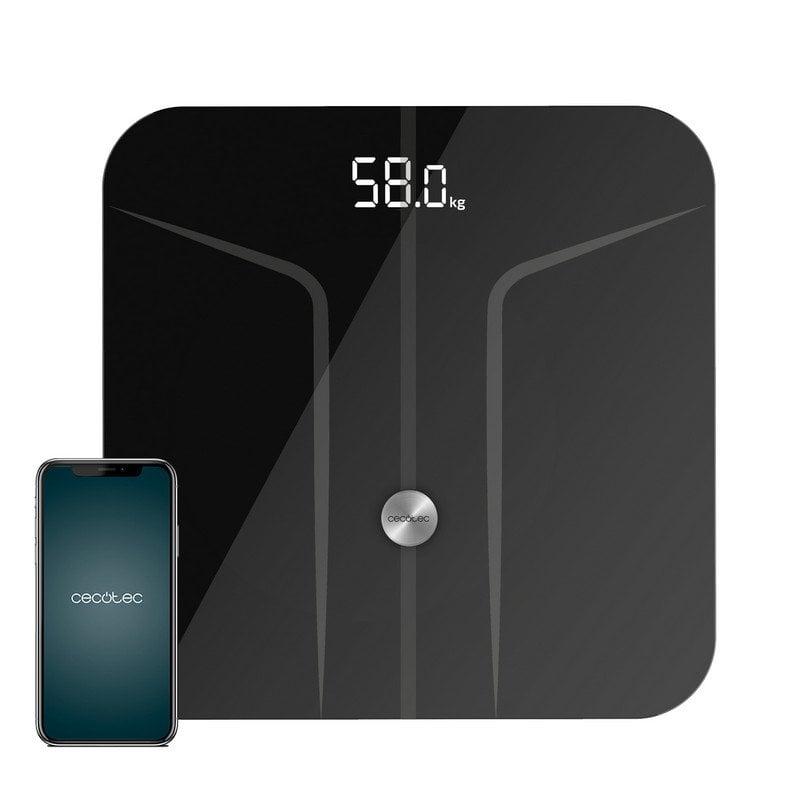 Cecotec Surface Precision 9750 Smart Healthy Báscula de Baño con Función de Bioimpedancia