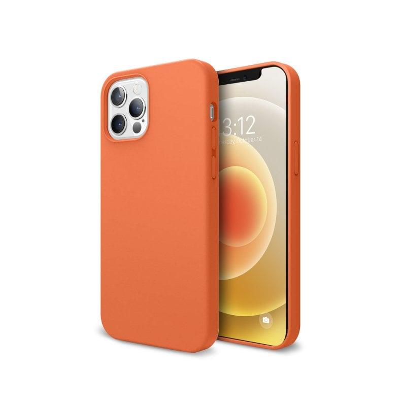 Nueboo Funda Soft Naranja para iPhone 12/12 Pro
