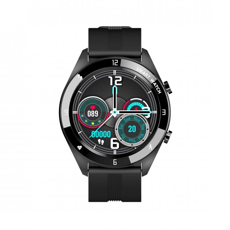 Watchuu Round Series 3 Reloj Bluetooth Negro