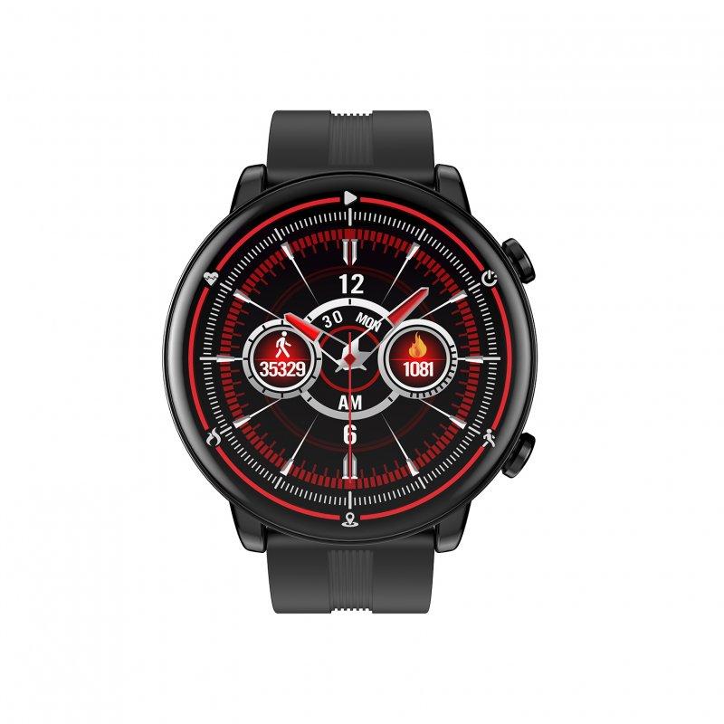 Watchuu Round Series 4 Reloj Bluetooth Negro