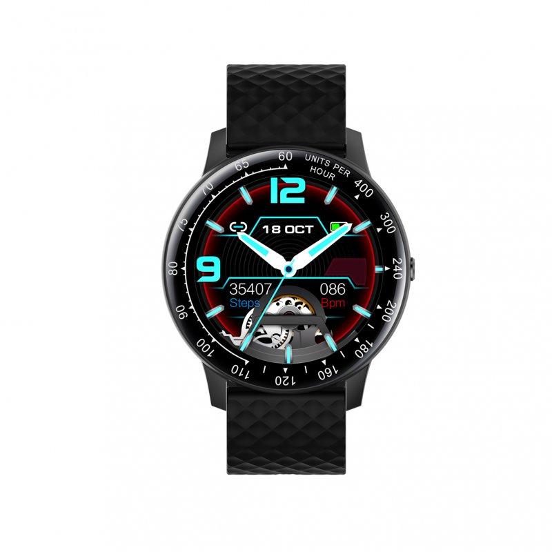 Watchuu Round Series 5 Reloj Bluetooth Negro