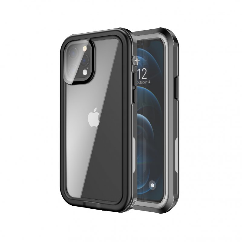 Nueboo Funda Waterproof Negra para iPhone 12 Pro Max