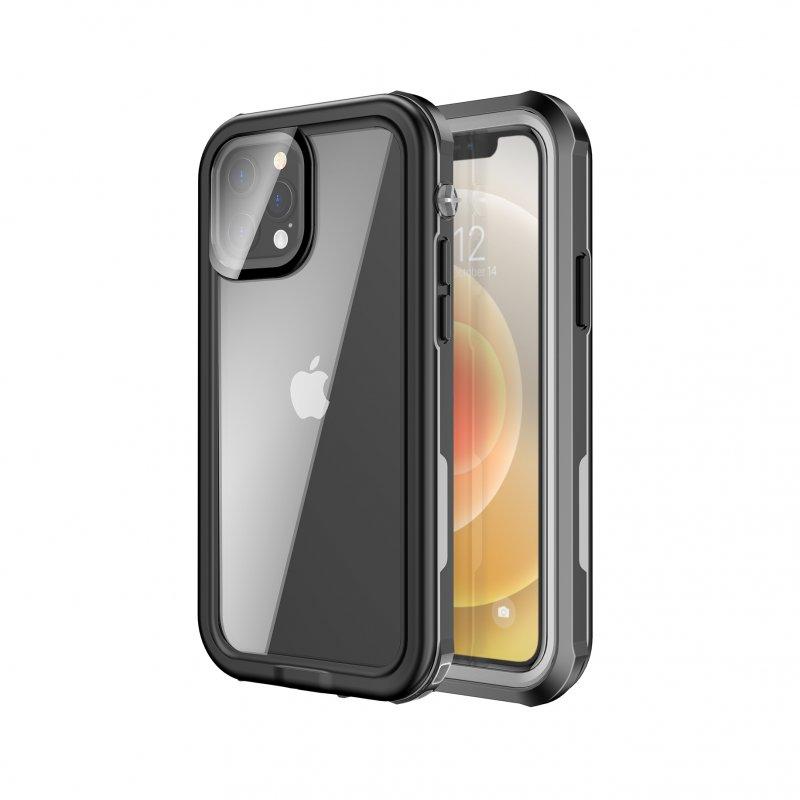 Nueboo Funda Waterproof Negra para iPhone 12/12 Pro