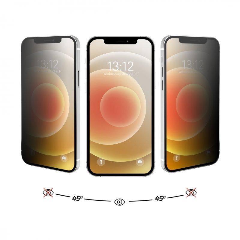 Nueboo Protector Cristal Templado Privacidad iPhone 12/12 Pro