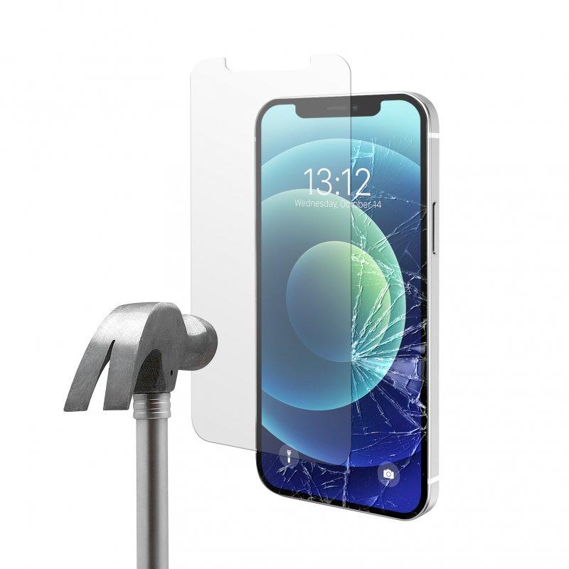 Nueboo Protector Cristal Templado para iPhone 12 Mini