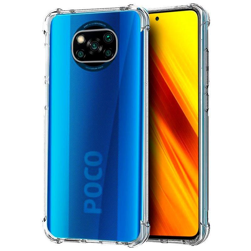 Cool Funda AntiShock Transparente Para Xiaomi Pocophone X3