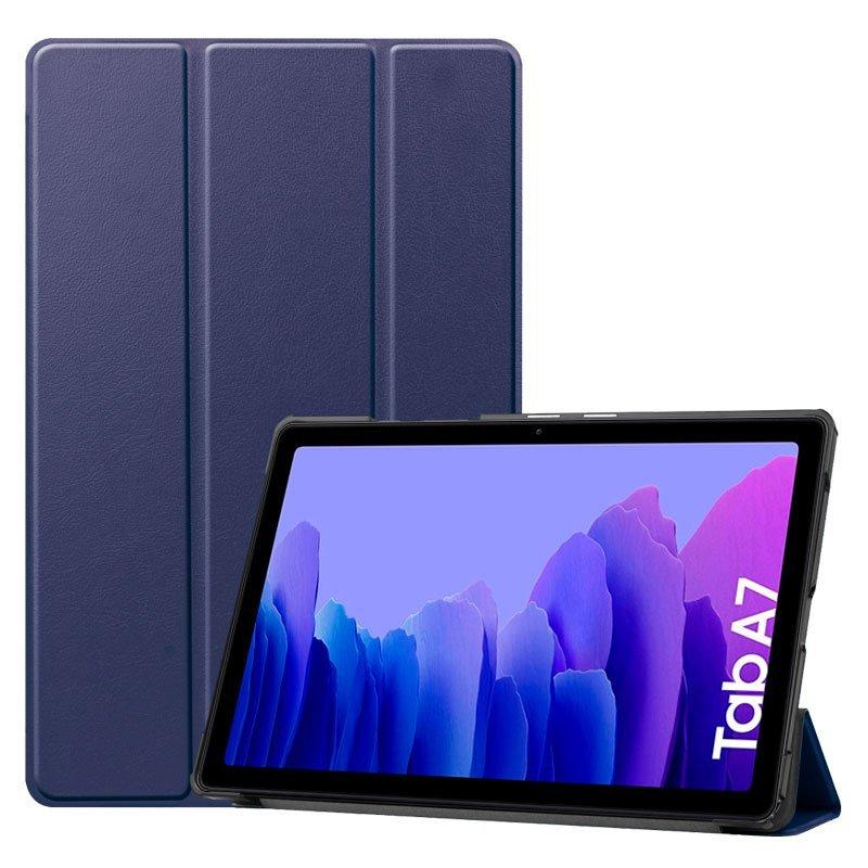 """Cool Funda Polipiel Azul Para Samsung Galaxy Tab A7 T500/T505 10.4"""""""