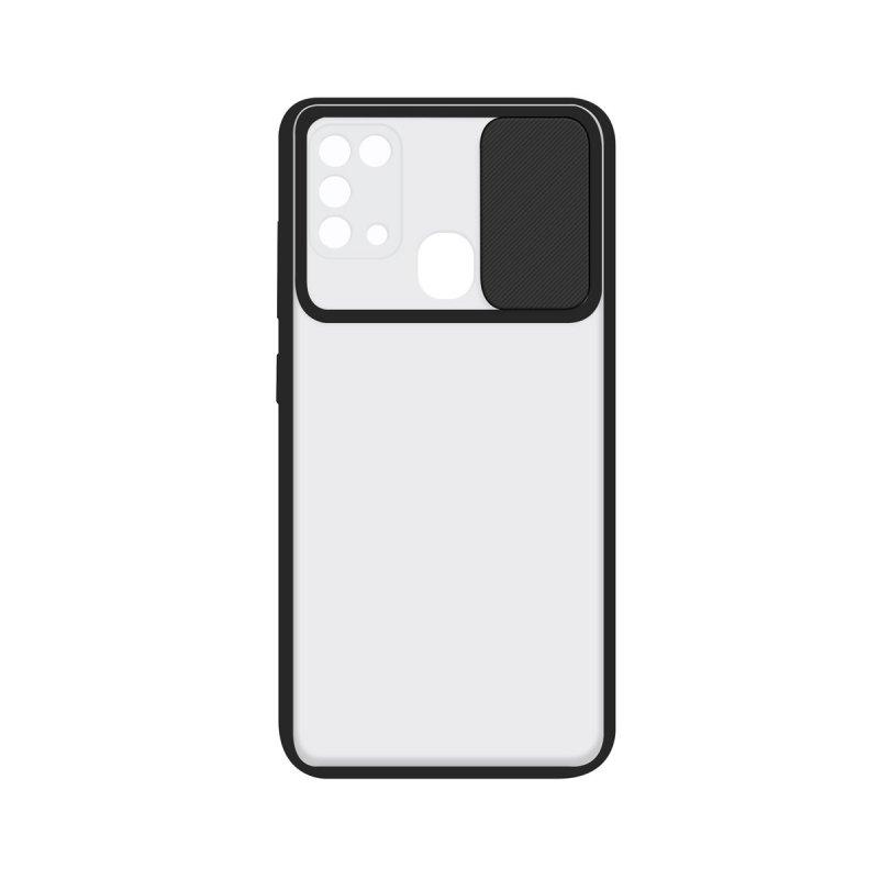 Ksix Funda Duo Soft Cam Protect Negra para Samsung Galaxy A31