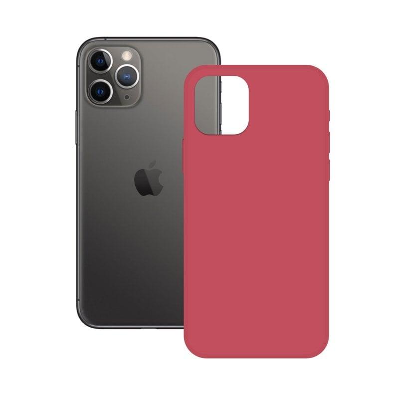Ksix Soft Silicone Rosa Fucsia para iPhone 11