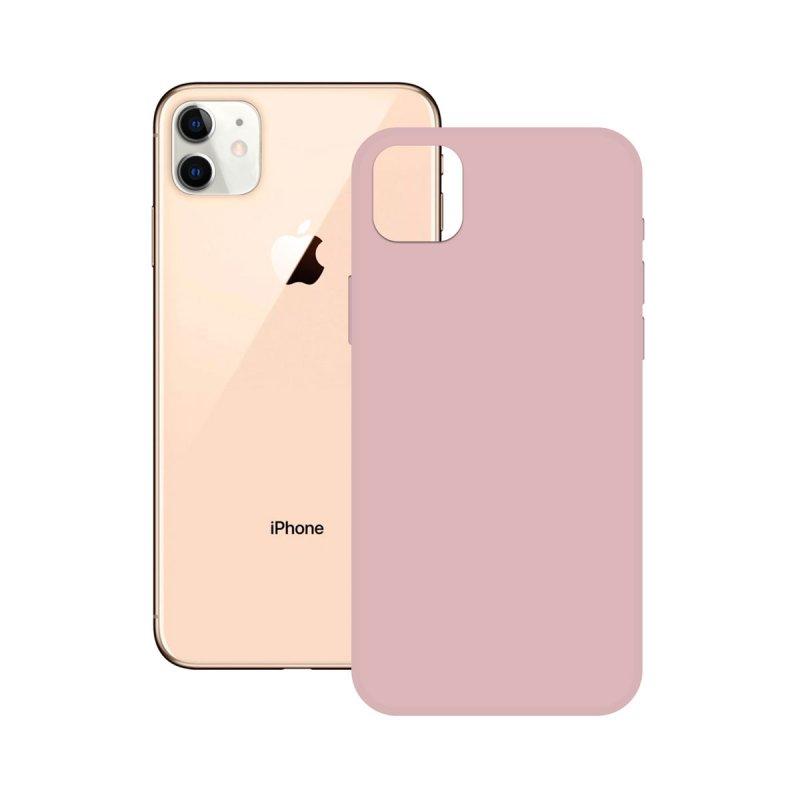 Ksix Soft Silicone Rosa para iPhone 12 Pro
