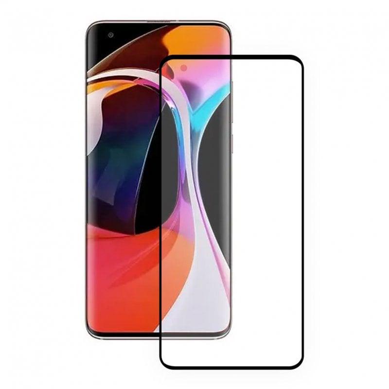 Ksix Cristal Templado 9H Full Glue 2.5D Borde Negro para Xiaomi MI 10T PRO