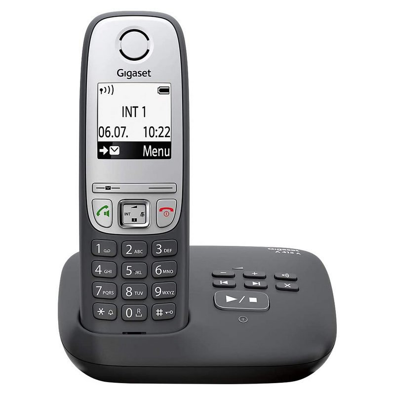 Gigaset A415A Teléfono Inalámbrico DECT Negro