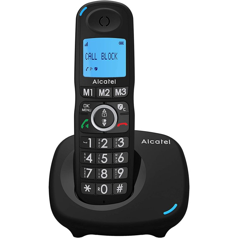 Alcatel XL535 Teléfono Inalámbrico DECT Negro