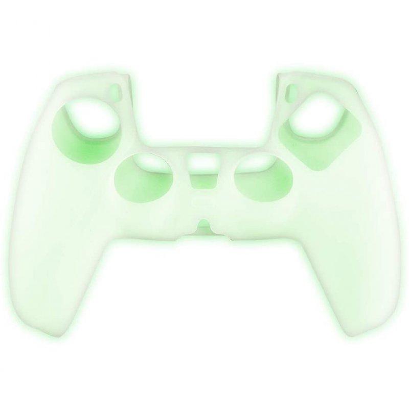Dualsense PS5 Custom Kit - Glow In The Dark Skin + Grips + Touch Stick