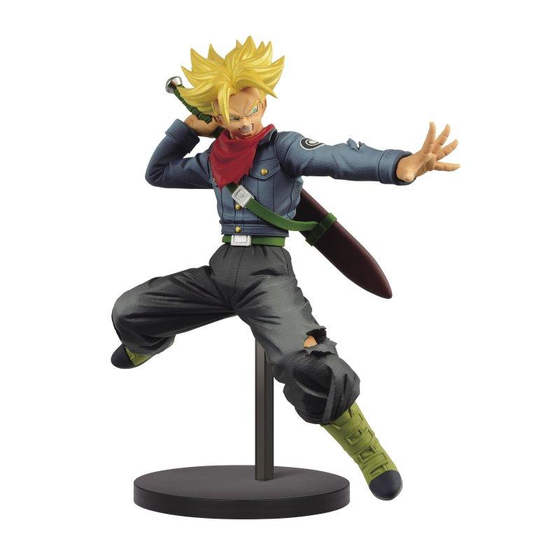 Banpresto Figura TRunks Futuro Super Saiyan Dragon Ball Super 17cm