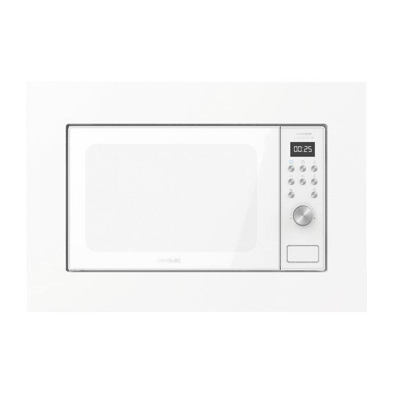 Cecotec GrandHeat 2000 Built-In White Microondas Encastrable