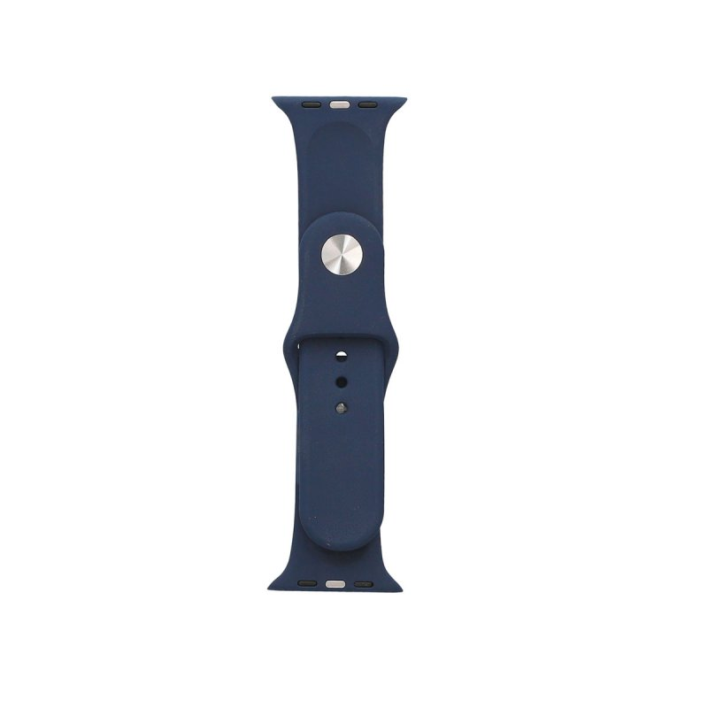 Ksix Correa Silicona Azul para Apple Watch 42/44mm