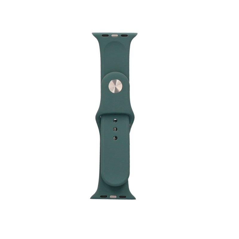 Ksix Correa Silicona Verde para Apple Watch 42/44mm