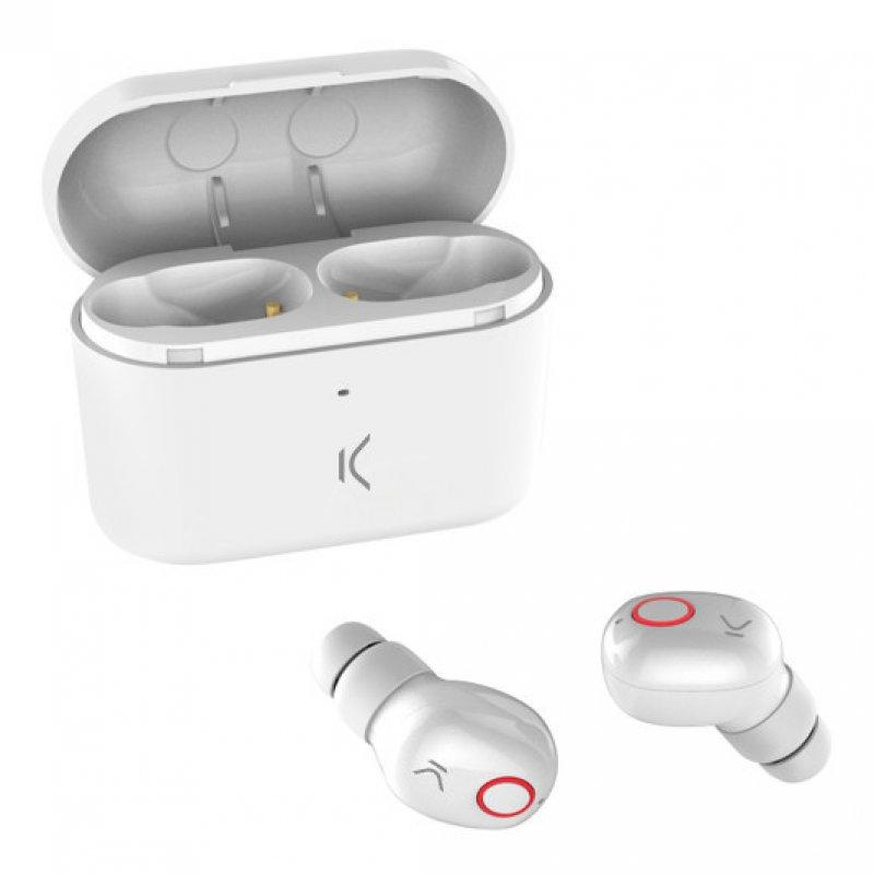 Ksix Free Pods Auriculares Inalámbricos Blancos