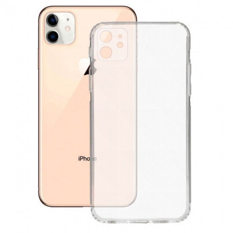Mobile Tech Funda Flex Transparente para Apple iPhone 12 Mini