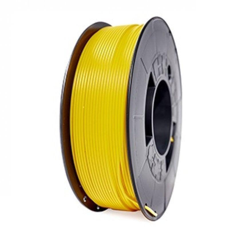 3DWorld Bobina de Filamento PLA Reforzado 1.75mm Amarillo Intenso 1Kg