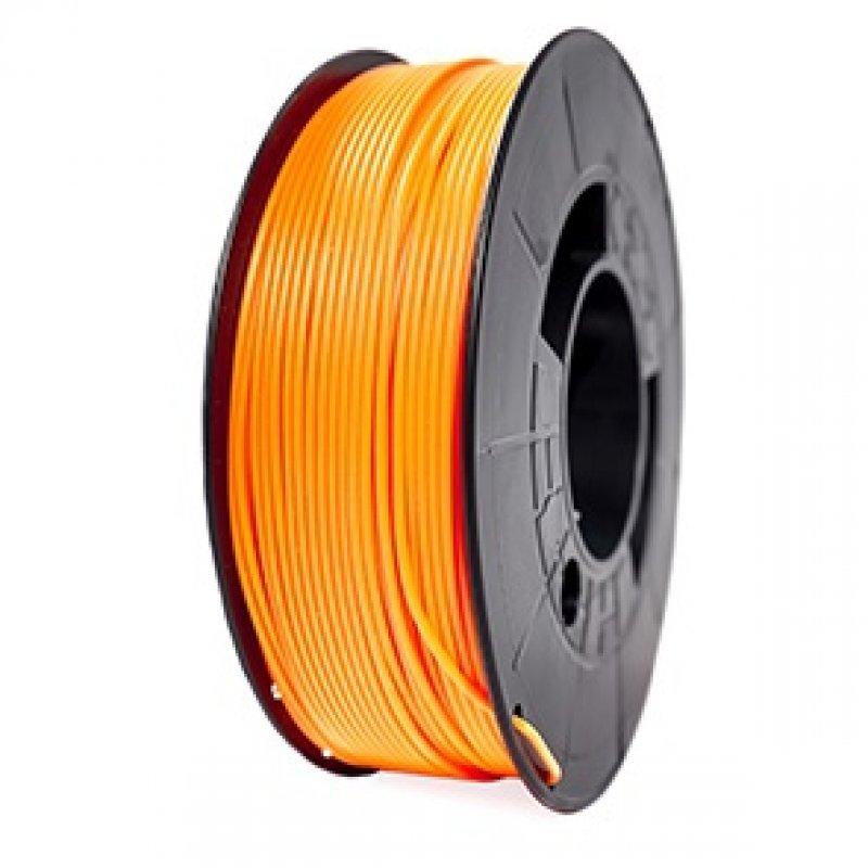 3DWorld Bobina de Filamento PLA Reforzado 1.75mm Naranja Neón 1Kg