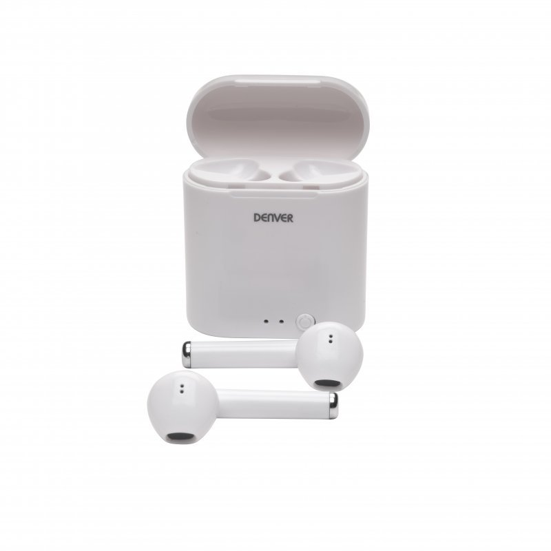 Denver TWE-36MK3 Auriculares Bluetooth Blancos