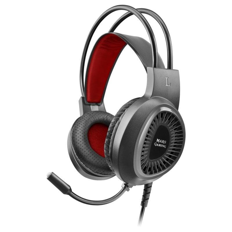 Mars Gaming MH120 Auriculares Gaming Negros
