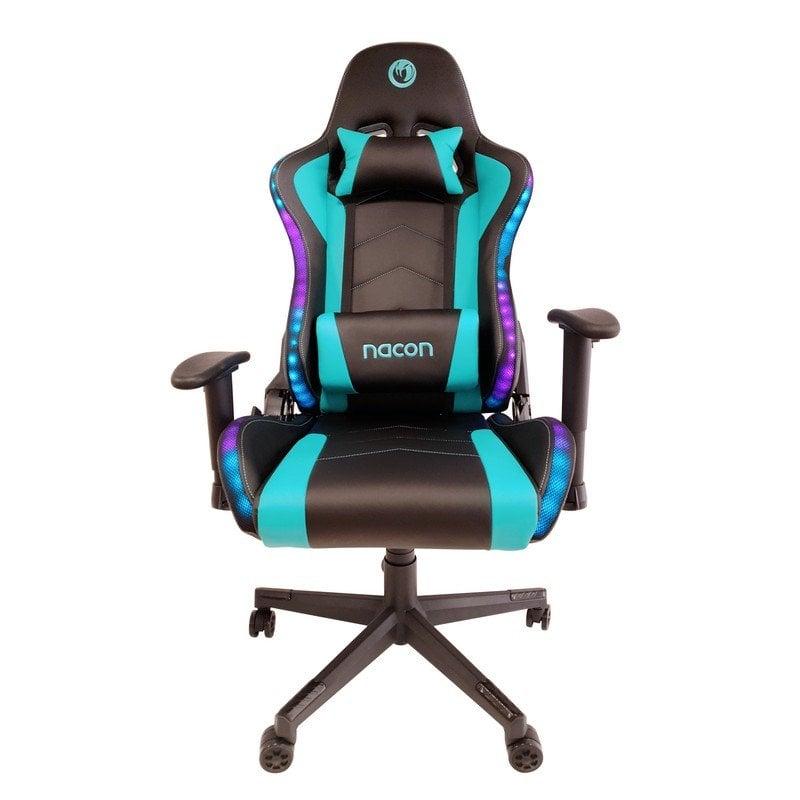 Nacon PCCH-650RGB Silla Gaming Negro/Azul