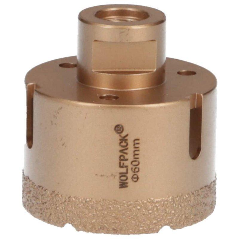 Wolfpack Corona de Diamante para Amoladora 60mm