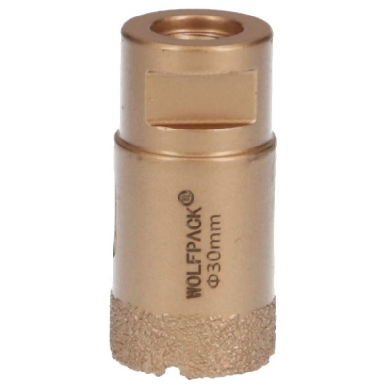 Wolfpack Corona de Diamante para Amoladora 30mm