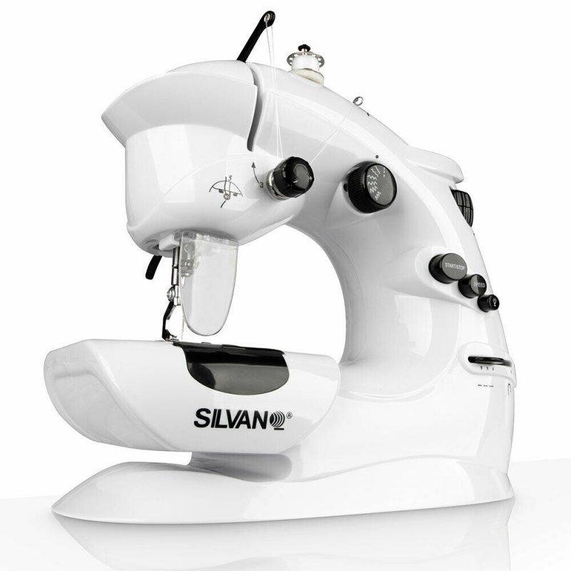 silvano sl-mc7 maquina de coser portatil