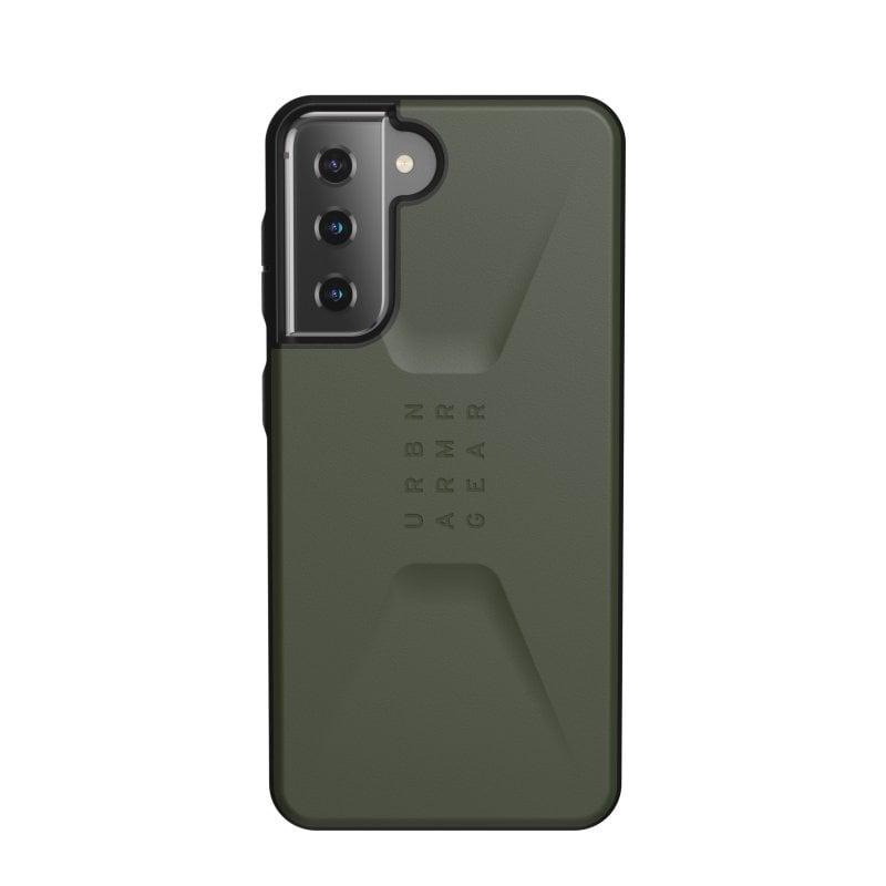 UAG Civilian Funda Olive para Samsung Galaxy S21 5G