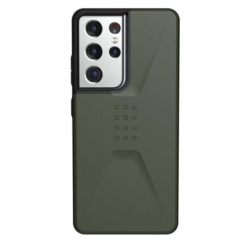 UAG Civilian Funda Olive para Samsung Galaxy S21 Ultra