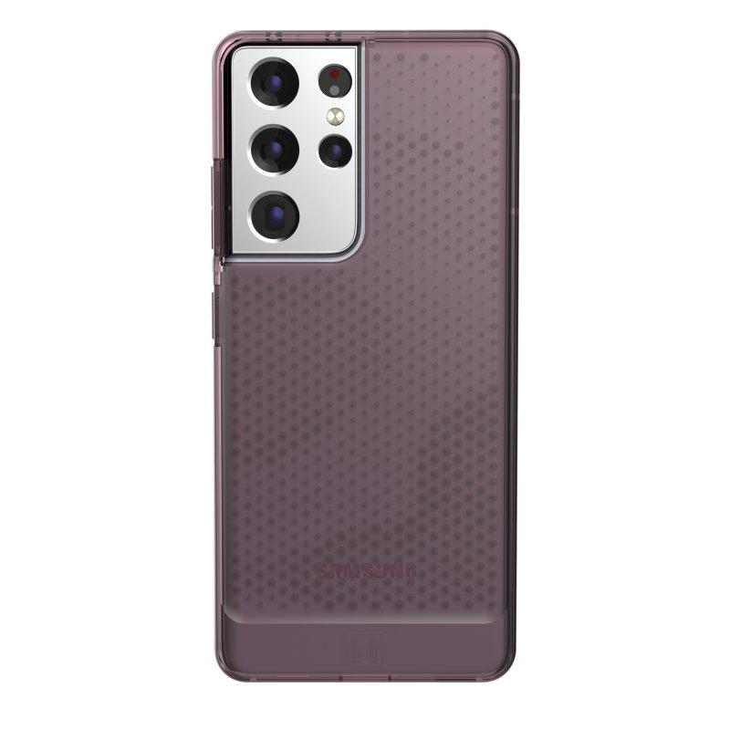 UAG [U] Lucent Funda Dusty Rose para Samsung Galaxy S21 Ultra 5G