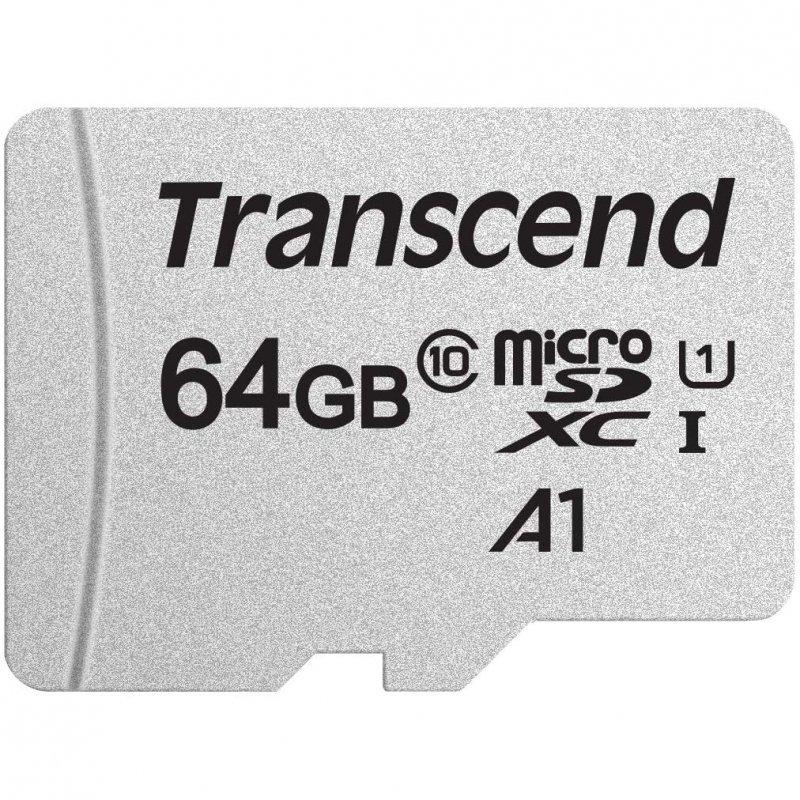 Transcend 300S MicroSDXC 64GB U1 A1 Clase 10