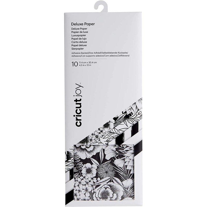 Cricut Joy Botanicals Pack de 15 Hoja de Papel Adhesivo 11.4 x 30.4 cm