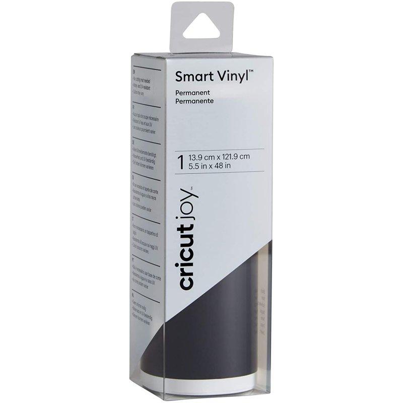 Cricut Joy Vinilo Adhesivo Permanente 13.9 x 121.9 cm Negro