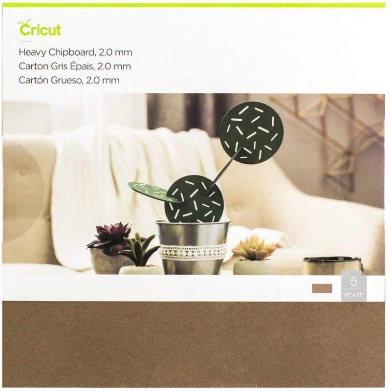 Cricut Pack de 5 Cartones Gruesos 28 x 28 cm