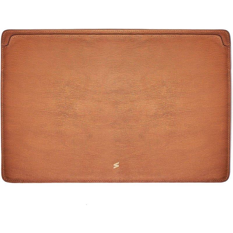 Suritt Corteccia Funda de Piel/Cuero Marrón para MacBook Air