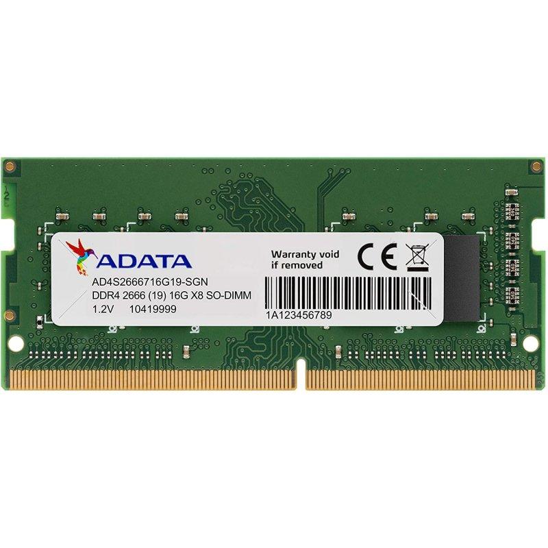 Adata Premier SO-DIMM DDR4 2666Mhz PC4-21300 16GB CL19