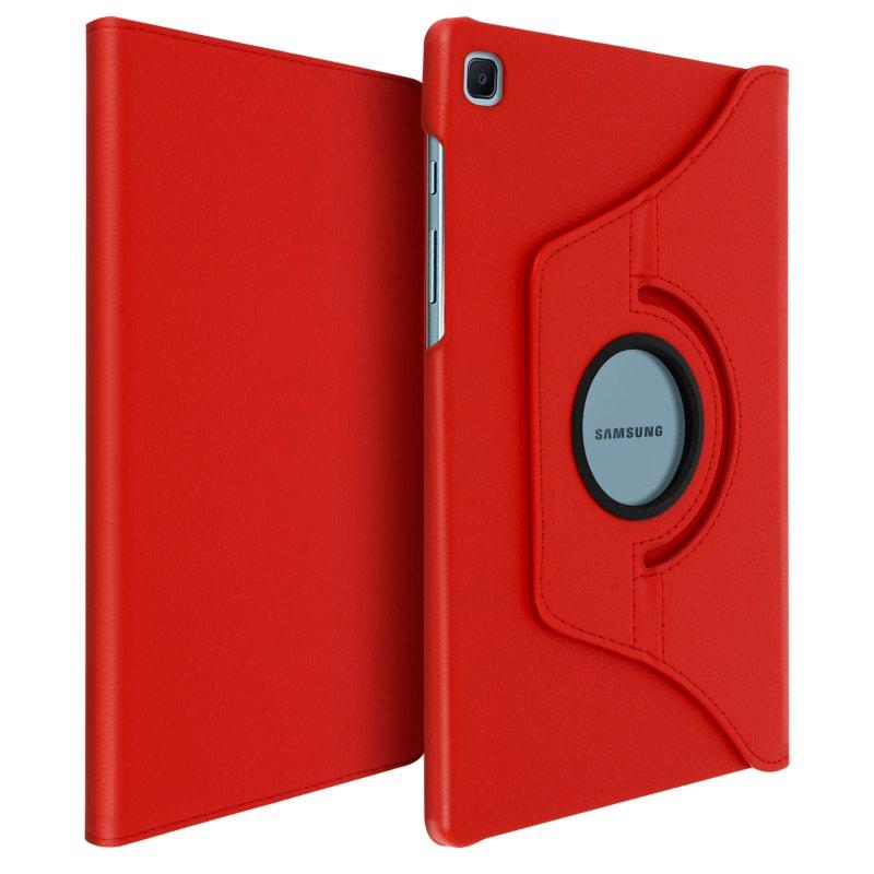 Avizar Funda Libro Soporte Roja para Samsung Galaxy Tab S6 Lite