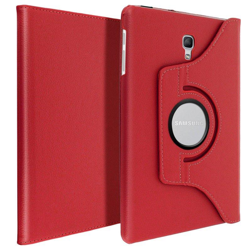 Avizar Funda Libro Soporte Roja para Samsung Galaxy Tab A 10.5