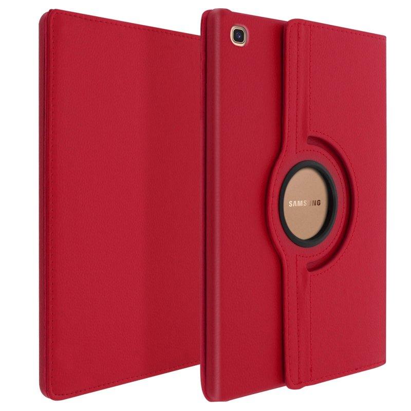 Avizar Funda Libro Soporte Roja para Samsung Galaxy Tab S5e