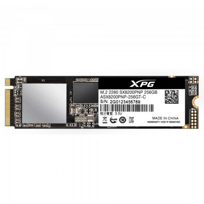 Adata XPG SX8200 Pro 256GB PCIe Gen3x4 M.2 2280 3D TLC NVMe