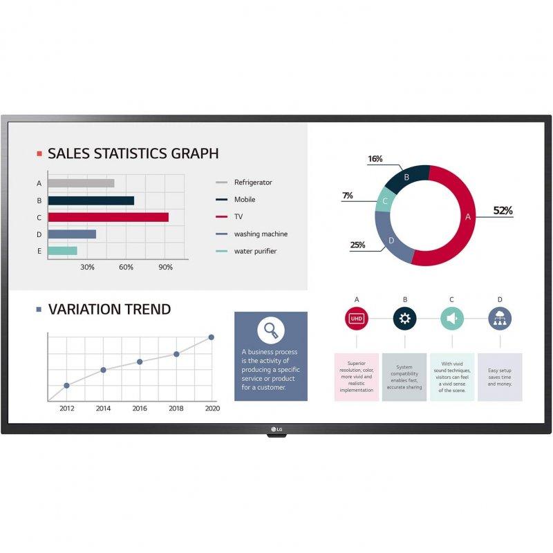 """Monitor LG 43UL3G-B 43"""" Pantalla de Señalización Digital IPS 4K UltraHD"""