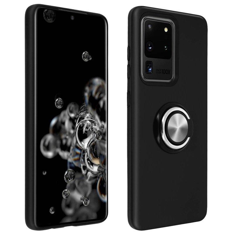 Avizar Carcasa Antigolpes Negra Para Samsung Galaxy S20 Ultra