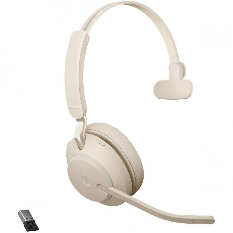 Jabra Evolve2 65 Auricular Monoaural Bluetooth/USB-C